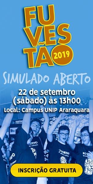 Simulado Aberto FUVESTÃO 2019