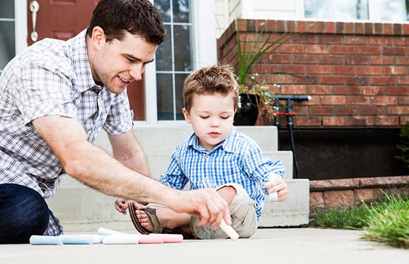 Pais e filhos, a tarefa de educar