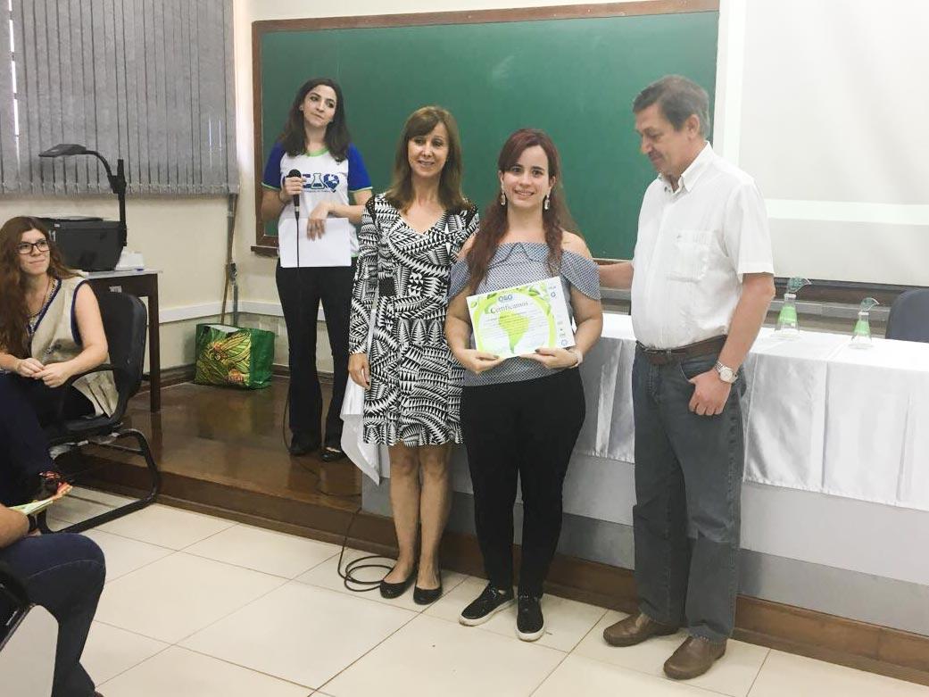 Premiação da Olímpiada de Química