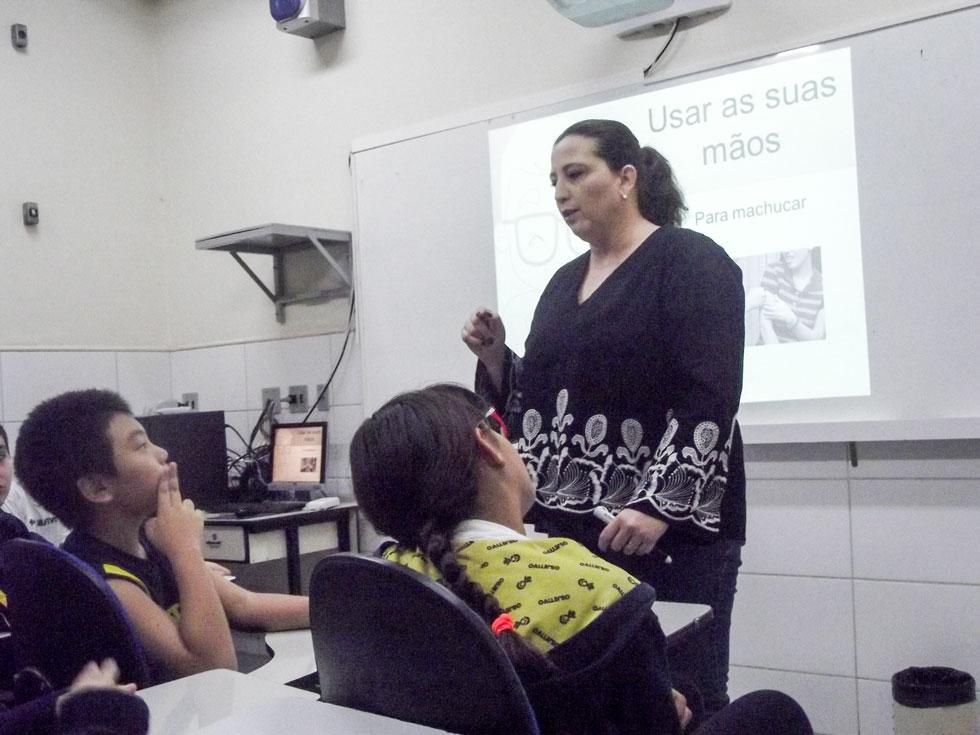 Projeto Bullying na escola