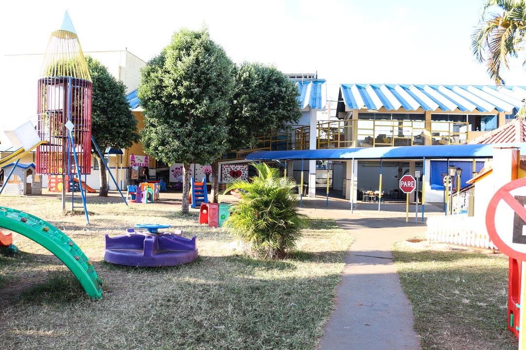 Playground do OBJETIVO Júnior